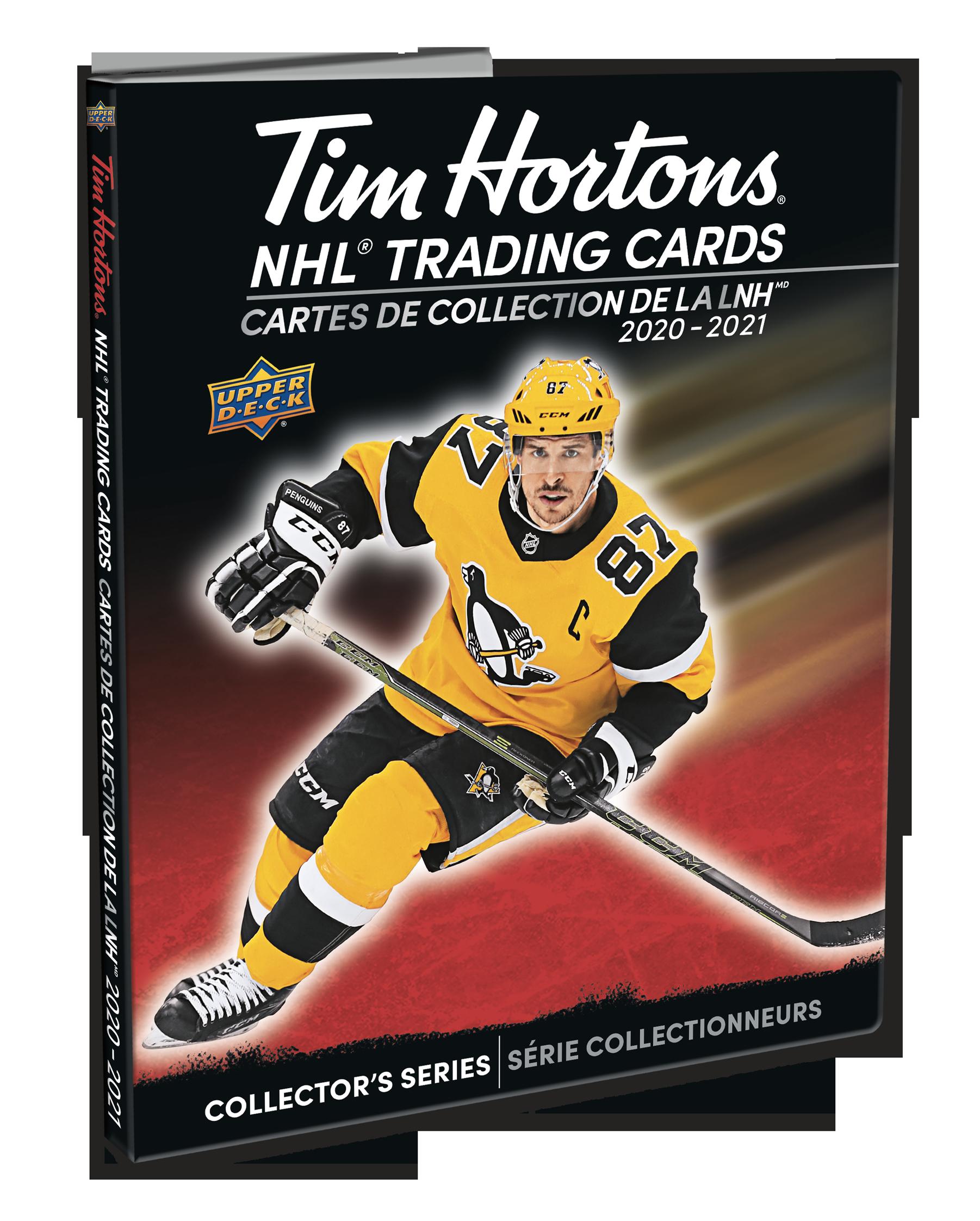 2020-21 Tim Hortons Hockey Binder Sidney Crosby