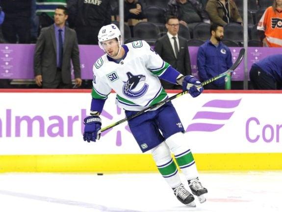 Tim Schaller Vancouver Canucks