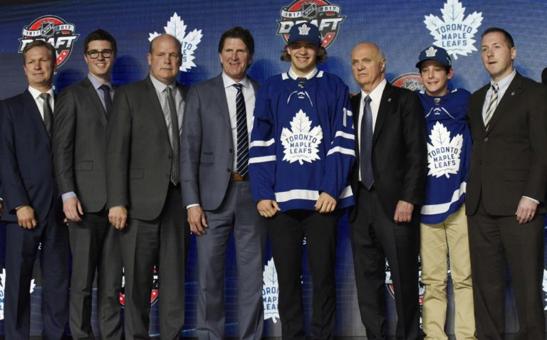Timothy Liljegren, Toronto Maple Leafs, NHL Entry Draft