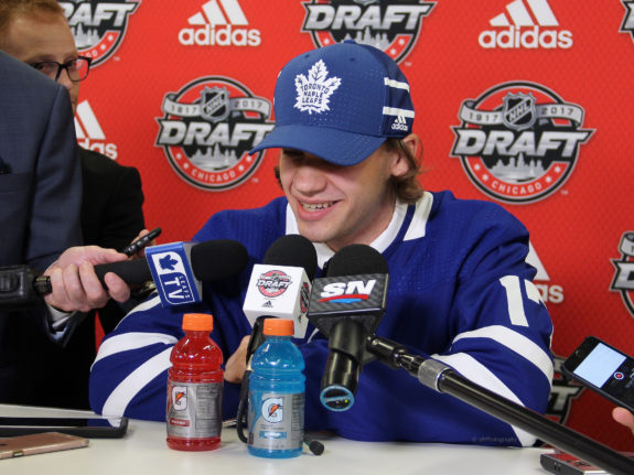 Timothy Liljegren, NHL Draft, Toronto Maple Leafs