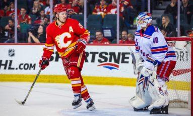 Flames Burn Rangers - Tkachuk Tallies 5-Points