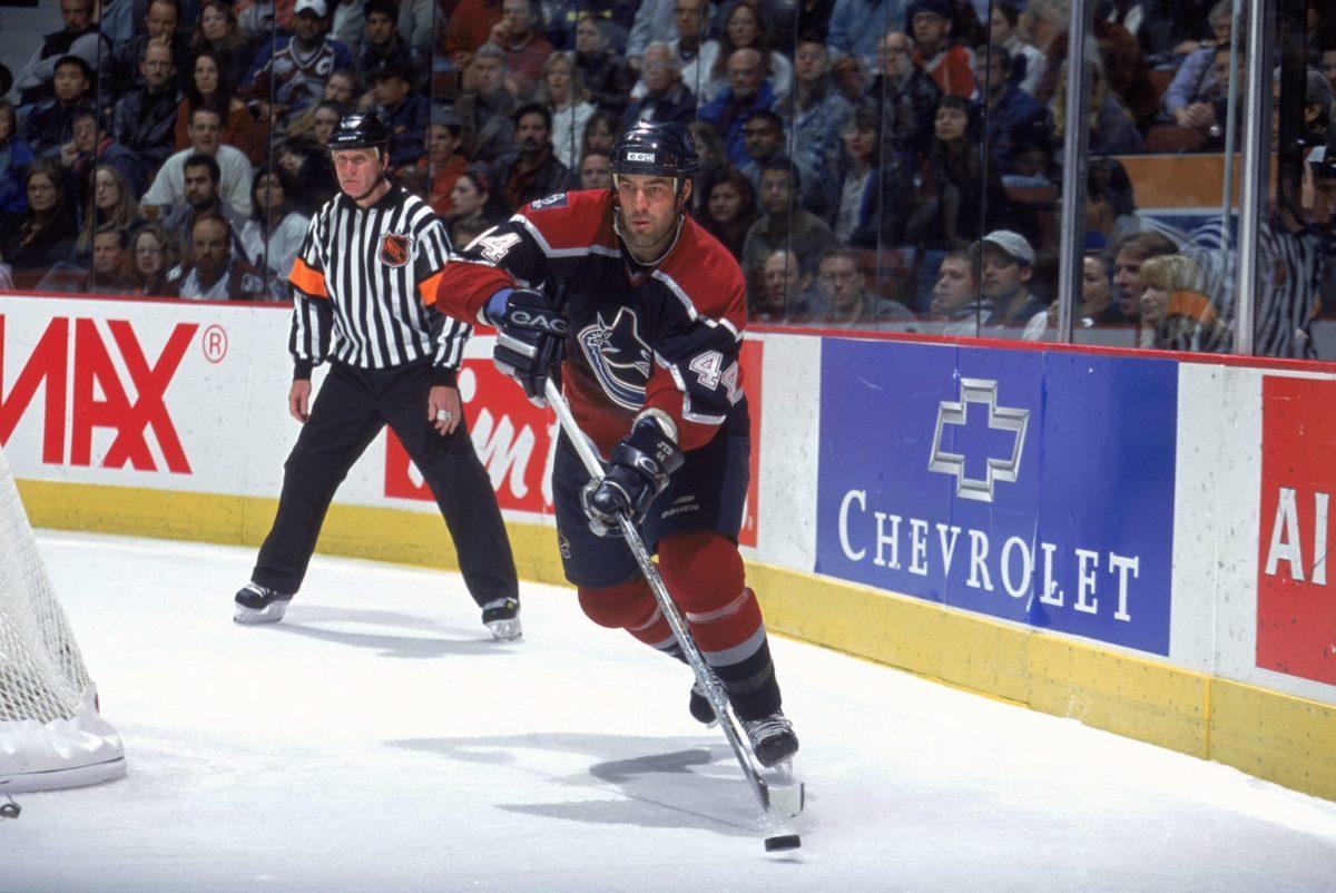 Todd Bertuzzi Vancouver Canucks