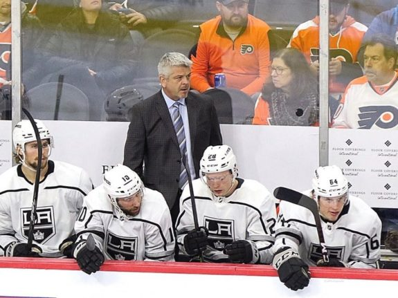 Todd McLellan Los Angeles Kings