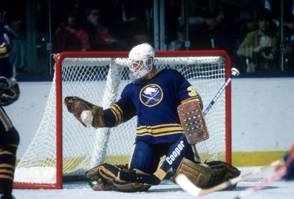 Goalie Tom Barrasso