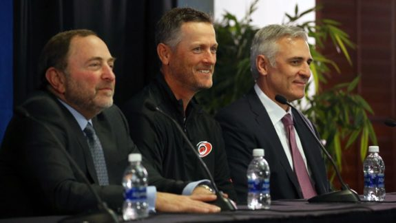 Tom Dundon, Hurricanes majority owner