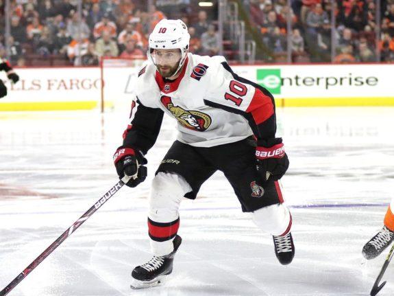 Tom Pyatt #10, Ottawa Senators