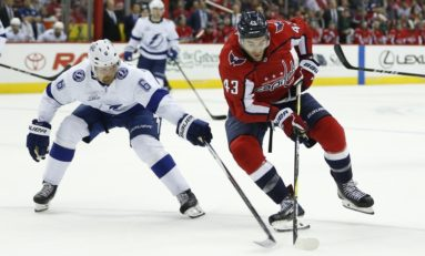 Capitals' Wilson Displeased with Stralman Hit