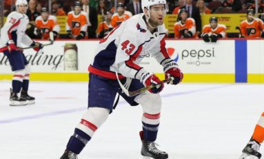 Capitals' Wilson's Suspension Reduced