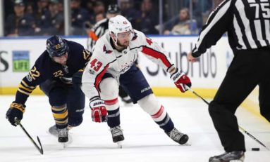 Tom Wilson Thriving on Capitals' Top Line