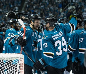 The Sharks went all the way to the Stanley Cup Final after missing the playoffs in 2014-15. (Kelley L Cox-USA TODAY Sports)