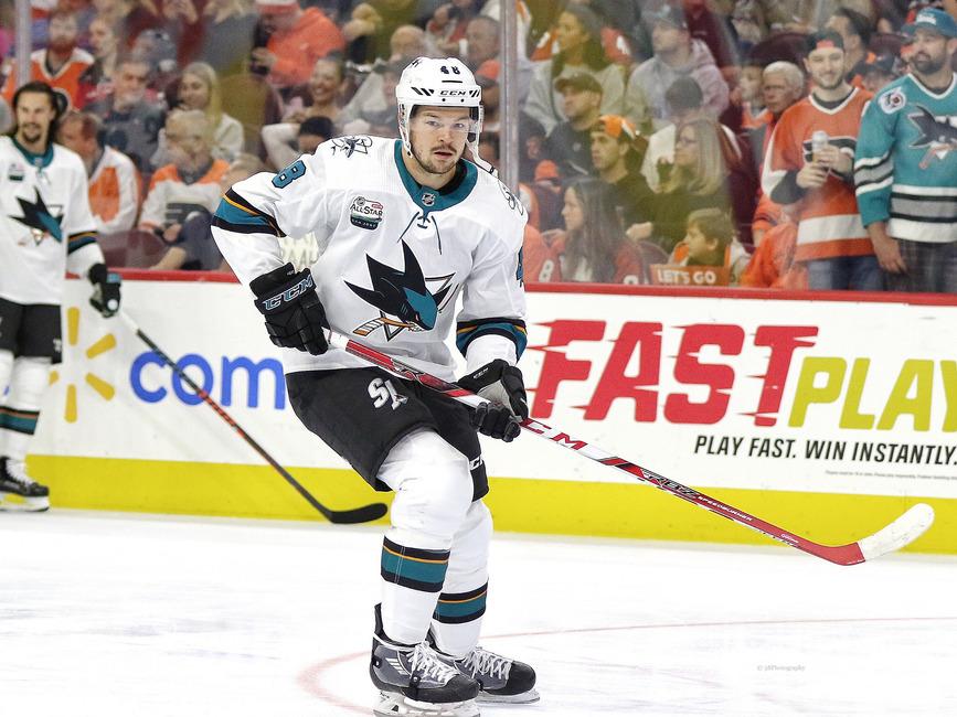 Tomas Hertl #48, San Jose Sharks