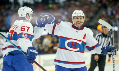 Canadiens Tilt Ice in Winter Classic Win