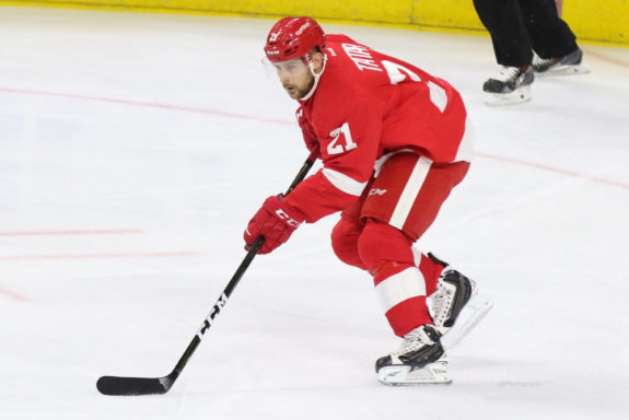 Detroit Red Wings forward Tomas Tatar.