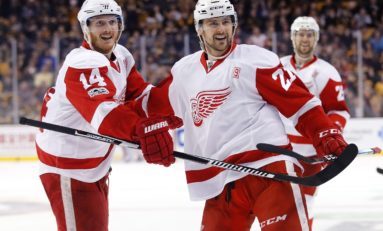 Red Wings' Nyquist Will Follow Tatar out the Door