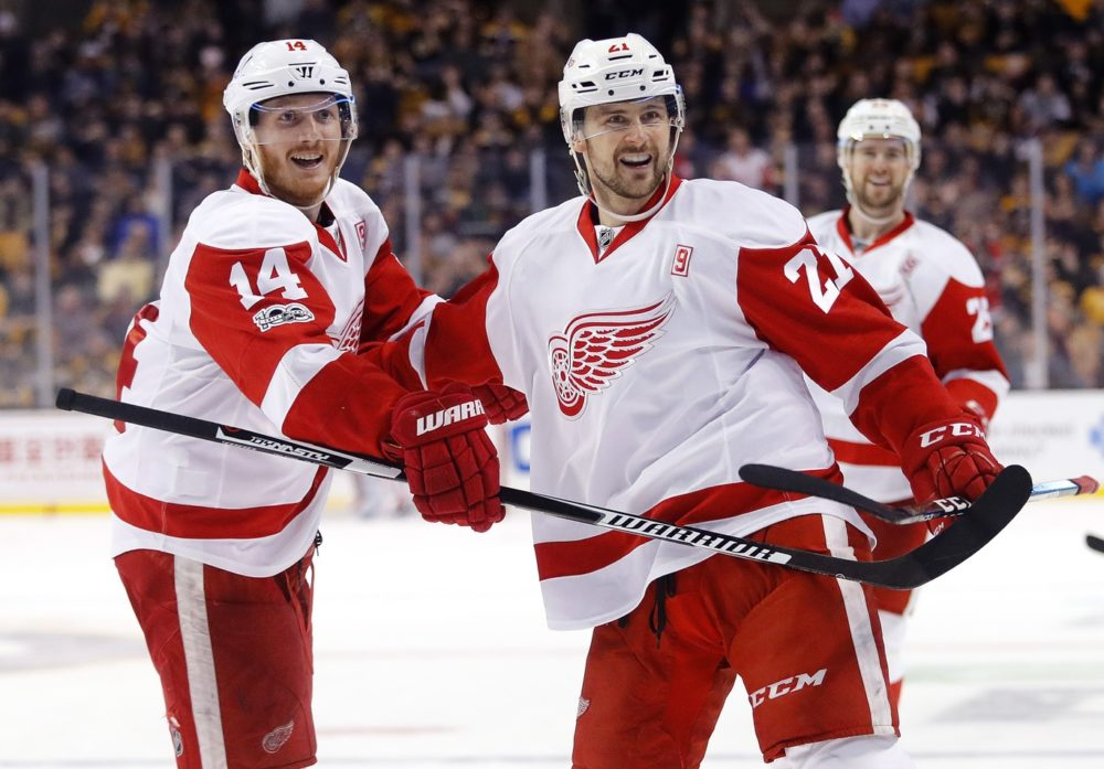 4396f3b2472 The Grind Line  Projected Red Wings Opening Night Roster