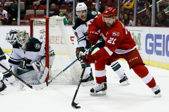 Tomas Tatar of the Detroit Red Wings.