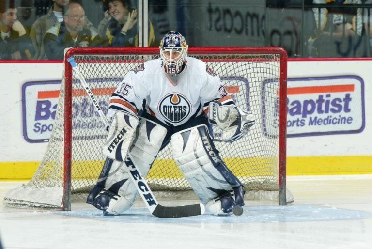 Tommy Salo Edmonton Oilers
