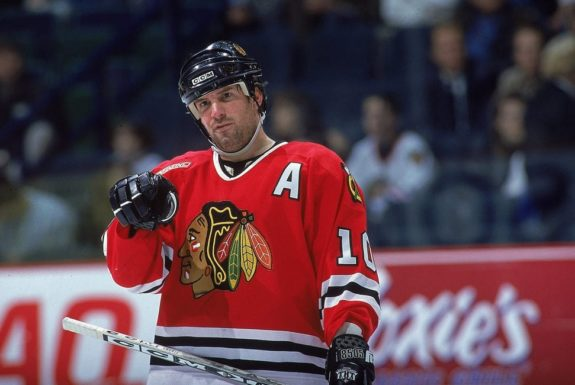 Tony Amonte Chicago Blackhawks