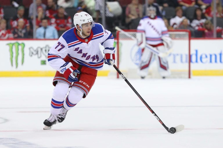 Rangers defenseman Tony DeAngelo