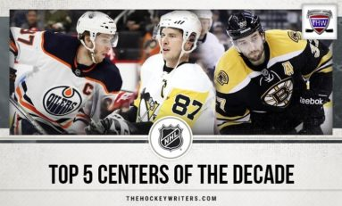 NHL's Top 5 Centers of the Decade