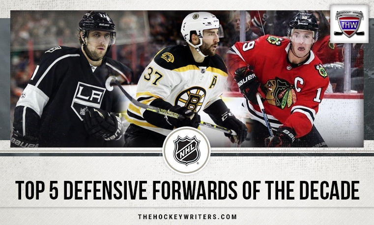 Top 5 Defensive Forwards of the Decade
