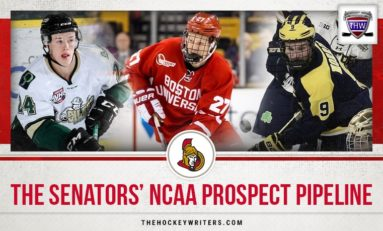 Senators' NCAA Prospect Pipeline