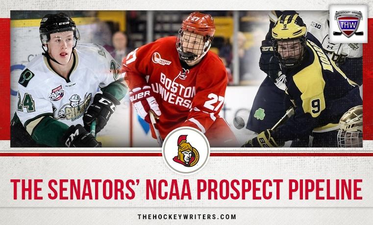 The Senators' NCAA Prospect Pipeline