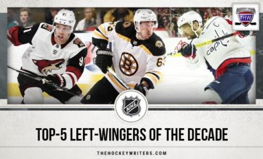 NHL's Top 5 Left Wingers of the Decade