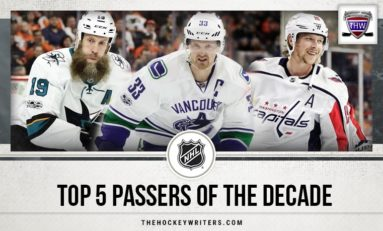 NHL's Top 5 Passers of the Decade