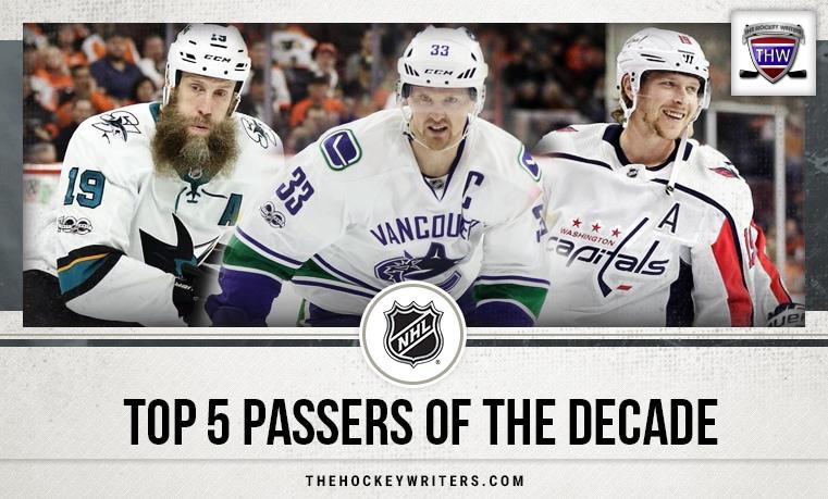 NHL Top 5 Passers of the Decade with Nicklas Backstrom, Henrik Sedin and Joe Thornton