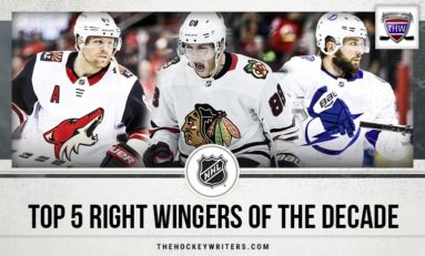 NHL's Top 5 Right Wingers of the Decade
