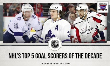 NHL's Top 5 Goalscorers of the Decade