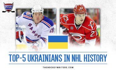 Top-5 Ukrainians in NHL History