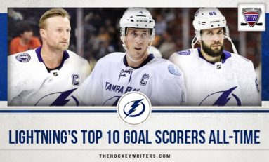 Lightning's Top-10 Goal Scorers All-Time