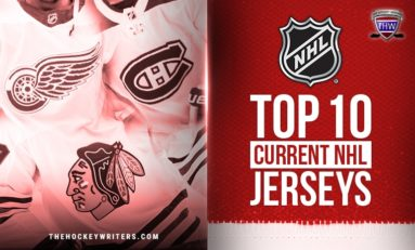 Top 10 NHL Jerseys Discussion Nourishes 'Social Closeness-ing'