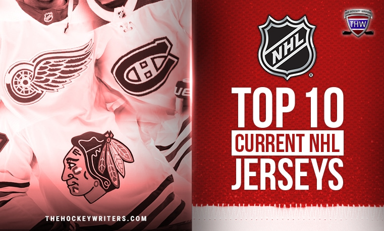 Poll on the top 10 current NHL jerseys