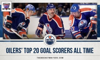Edmonton Oilers' Top-20 Goal Scorers All-Time