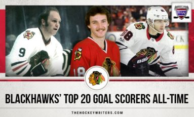 Chicago Blackhawks' Top-20 Goal Scorers All-Time
