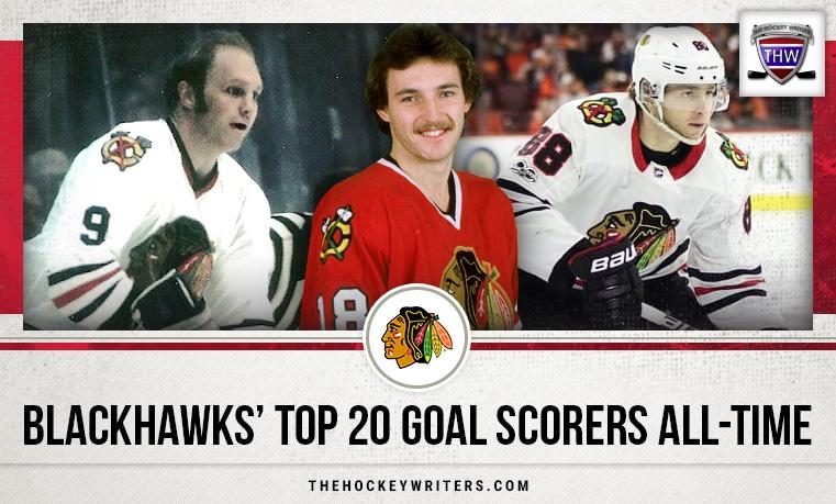 Chicago Blackhawks' Top-20 Goal Scorers All-Time