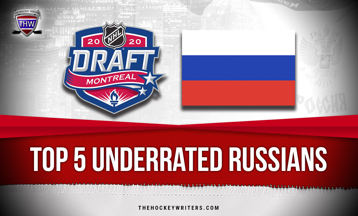 2020 NHL Draft Top 5 Underrated Russians