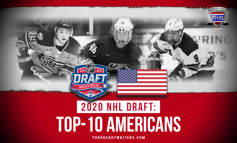 Top-10 Americans at the 2020 Draft Jake Sanderson, Brendan Brisson, and Thomas Bordeleau