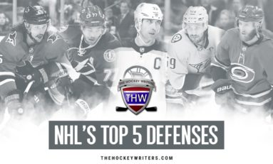 The NHL's Top 5 Defenses