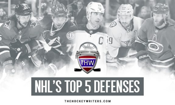 NHL's Top 5 Defenses