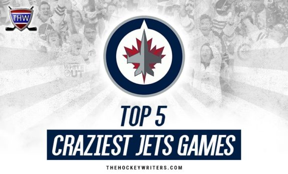 Top Five Craziest Winnipeg Jets Games