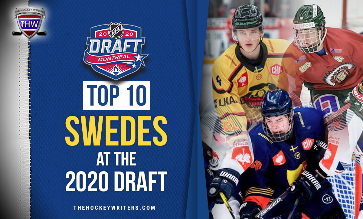 Top-10 Swedes at the 2020 Draft Lucas Raymond, Alexander Holtz and Noel Gunler