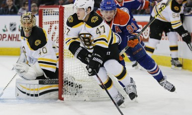 Boston Bruins' Western Disaster