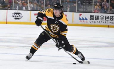 Krug Injury Complicates Bruins Roster