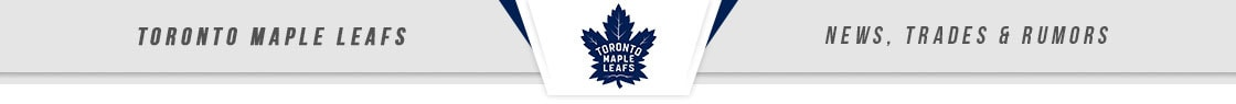 Toronto Maple Leafs News, Trades & Rumors