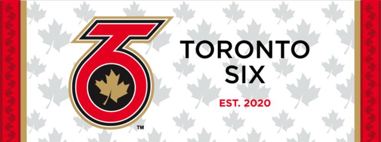 Toronto Six NWHL logo