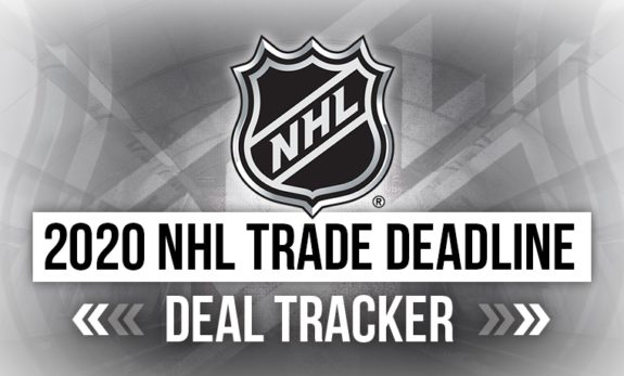 2020 NHL Trade Deadline: Deal Tracker